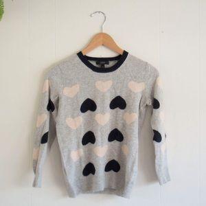 J. Crew 3/4 sleeve wool blend sweater